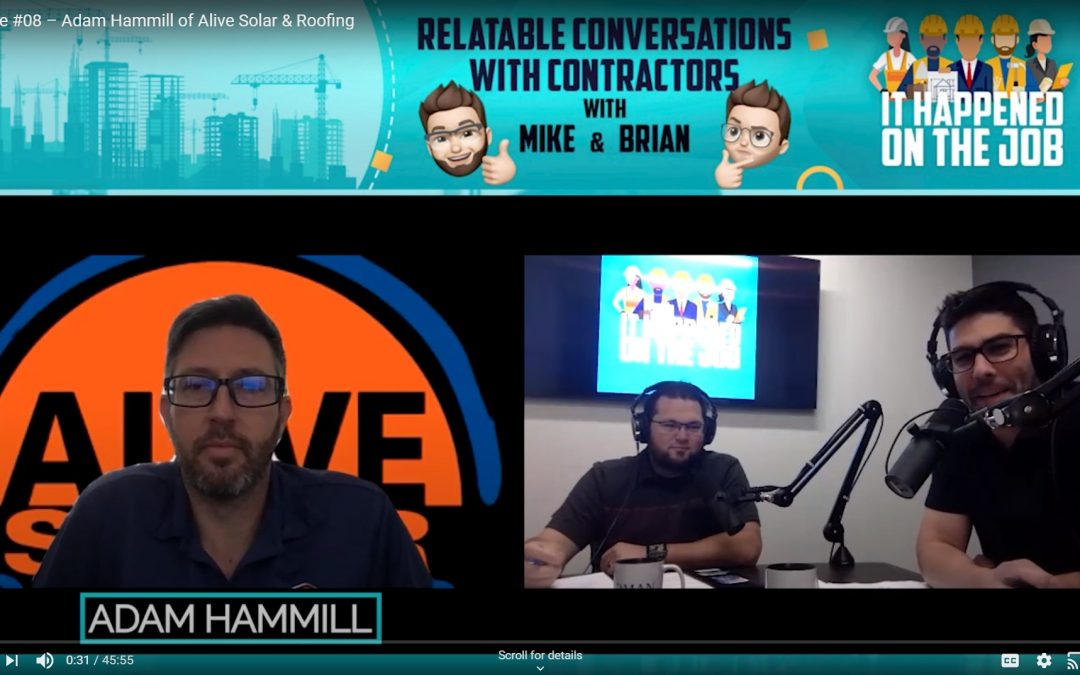 Episode #08 – Adam Hammill