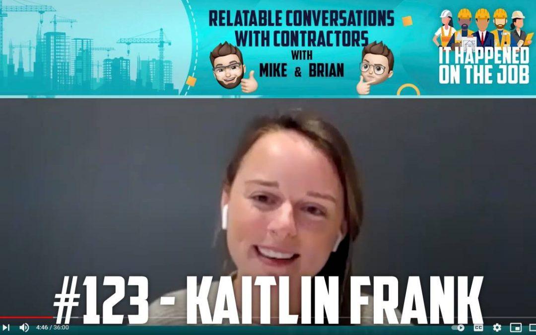 Episode #123 – Kaitlin Frank