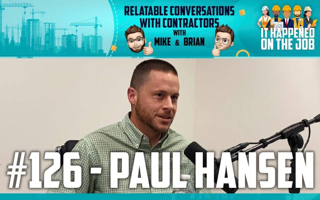 Episode #126 – Paul Hansen