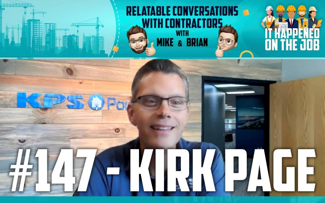 Episode #147 – Kirk Page