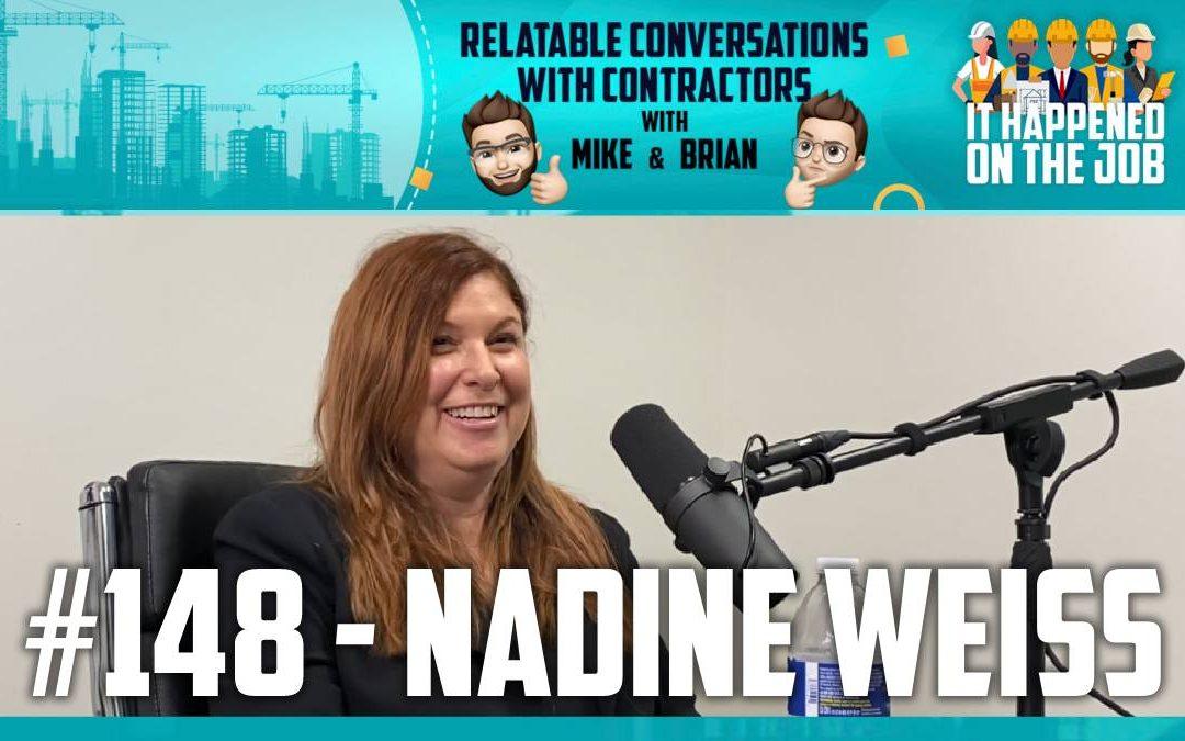 Episode #148 – Nadine Weiss